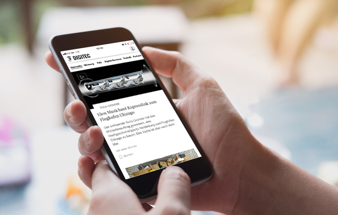 "Thonic Kunde launcht neue App ""FAZ DIGITEC"""